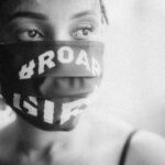 """100 Maßgefertigte MundschutzMasken mit Logo """"That Girl"""""""