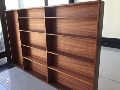 Cutlery drawer with the dimensions LxWxH 77 x 48 x 5 cm made