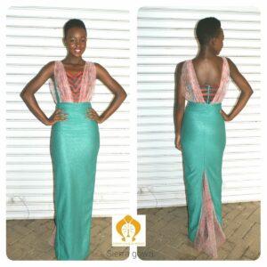 Sierra evening gown