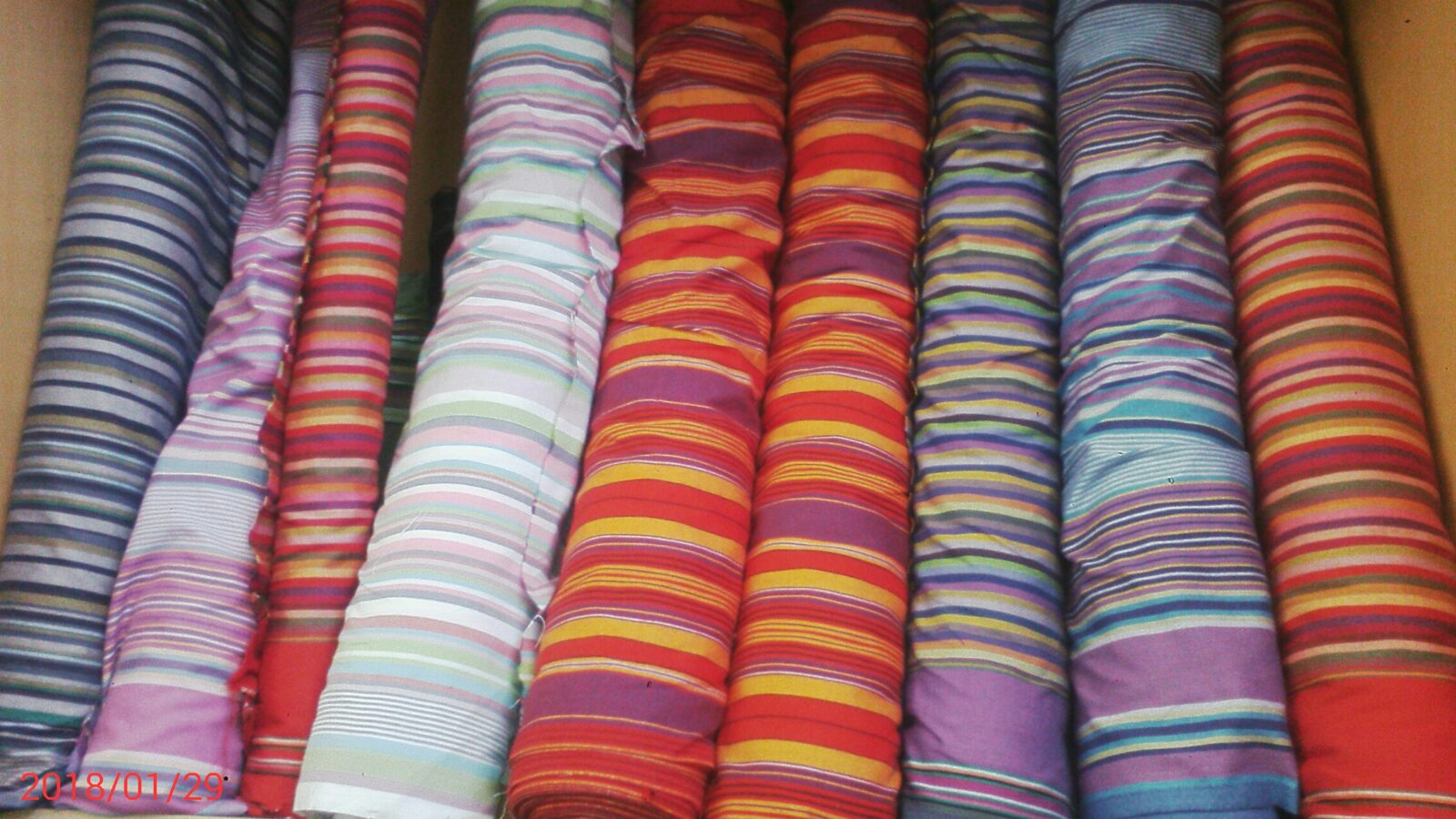 Custom made from fabric