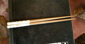 Custom made chop sticks on customer request