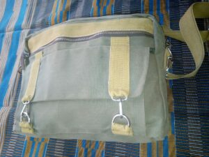 Canvas bag made in Kenya