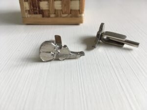 Two pairs of custom made cufflinks
