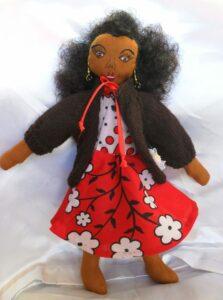 """Wendani"" Mukami doll"