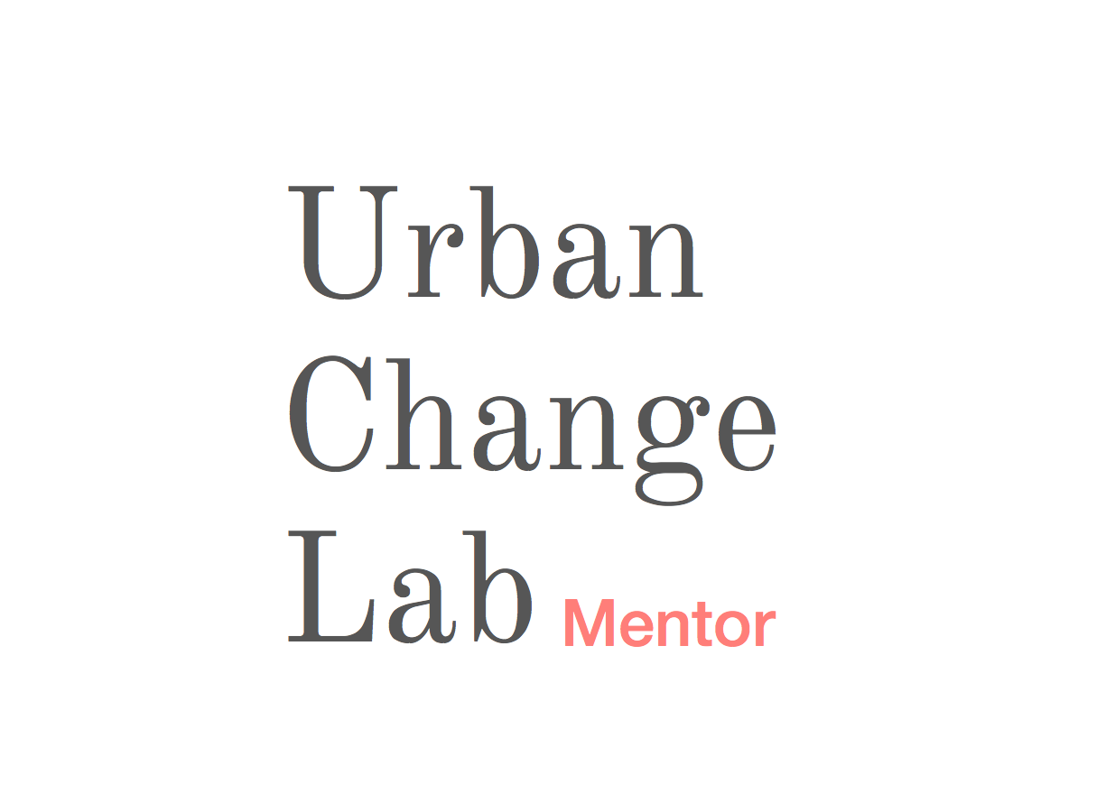 Urban Change Lab Mentor
