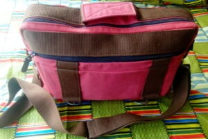 Maßgefertigte Handtasche aus Stoff