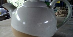 Tea pot made by John Kamau