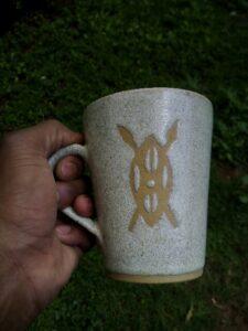 kenya mug made by John Kamau
