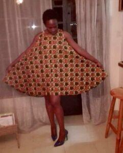 Maßgefertigter Langrock und ein A-line Kleid