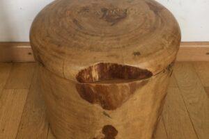 Handgefertigte Spardose aus Holz