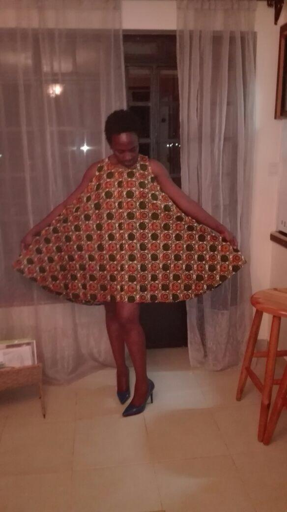 A-line Kleid