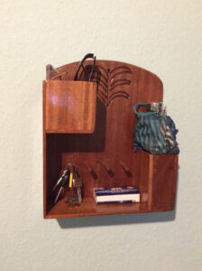 Custom made key rack