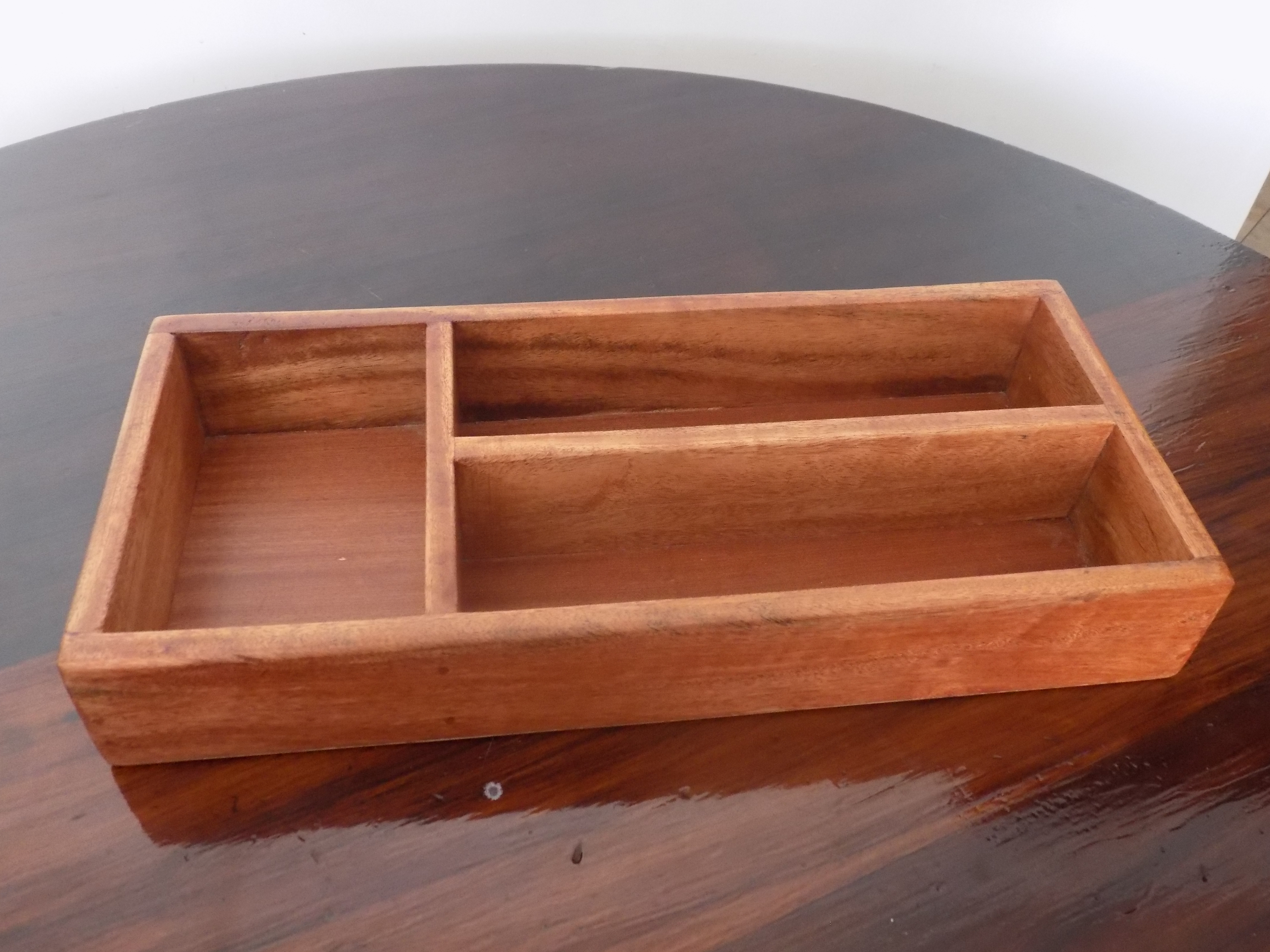 Custom made cutlery tray