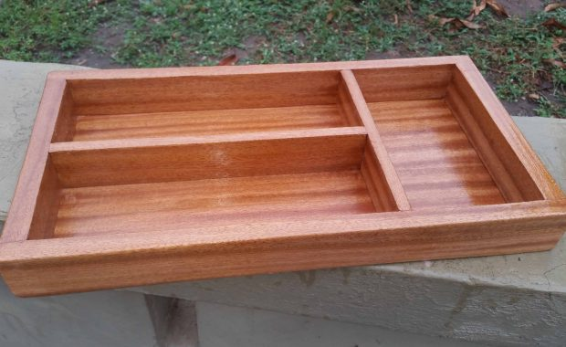 Cutlery box for our narrow drawer