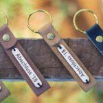 Maßgerfertigte Schlüsselringe