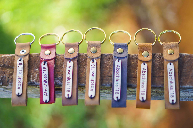 Custom made key rings