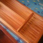 Besteckkasten für unsere schmale Schublade waehrend der Massanfertigung