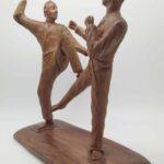 Skulptur nach dem Vorbild der folgenden Bilder