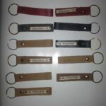 Custom made key rings within custom made realization
