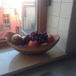 Custom made fruit bowl photos from customer