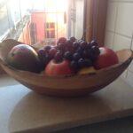 Maßgefertigte Obstschale Fotos vom Kunden