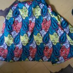 Custom made maxi skirt and an A-line knee lenth dress within custom made realization