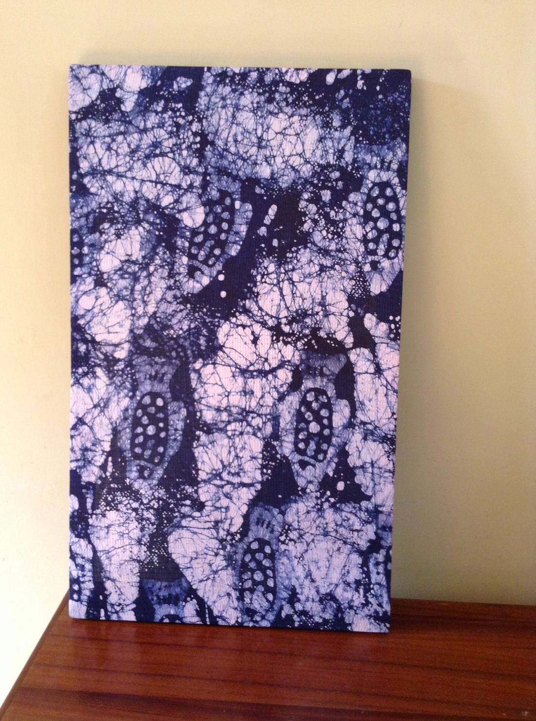 Batik Wandkunst