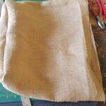 Custom made Bag with African patterns within custom made realization