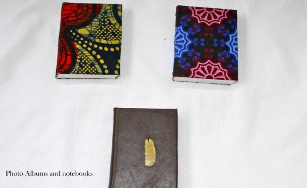 Kitenge A6 and A5 books