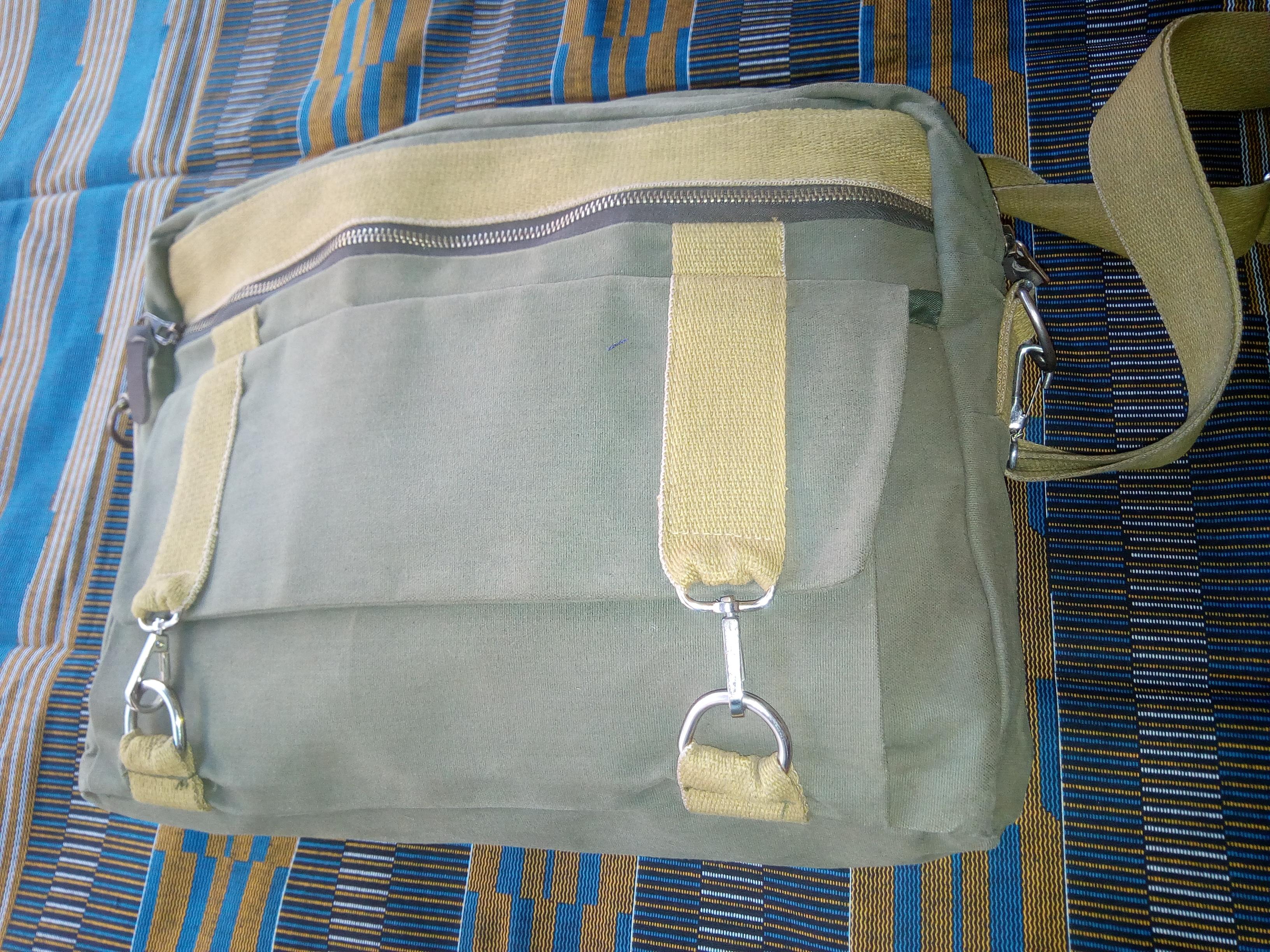 Leinentasche hergestellt in Kenia