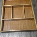 Two custom made boxes as a drawer insert