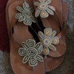 Swahili Perlen Sandalen