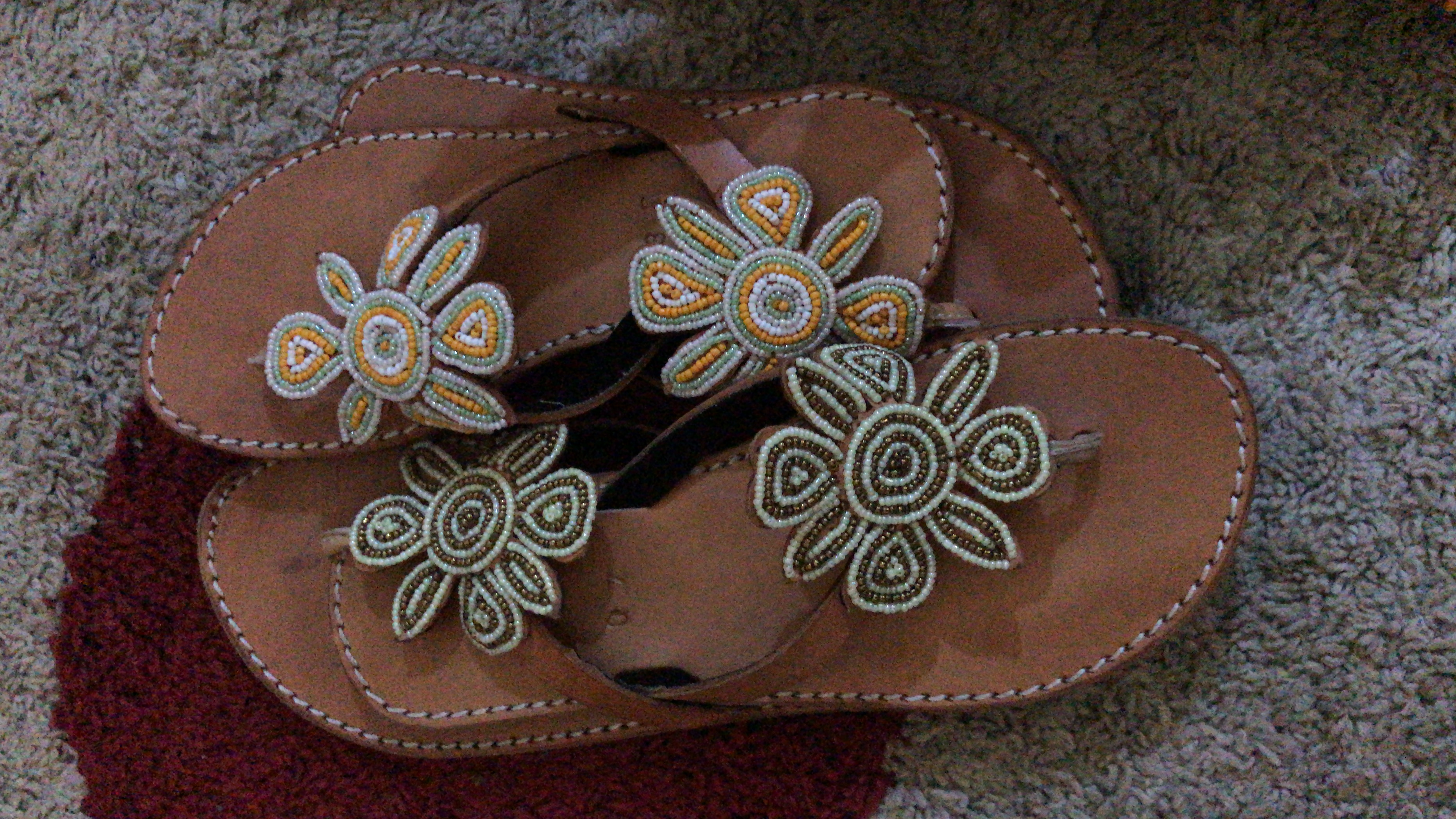Swahili Beaded Sandals