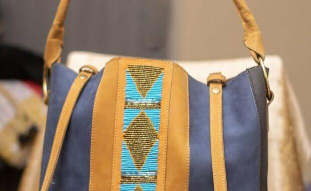 Sheba Perlen-Tasche