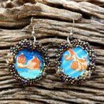 Closed loop earrings
