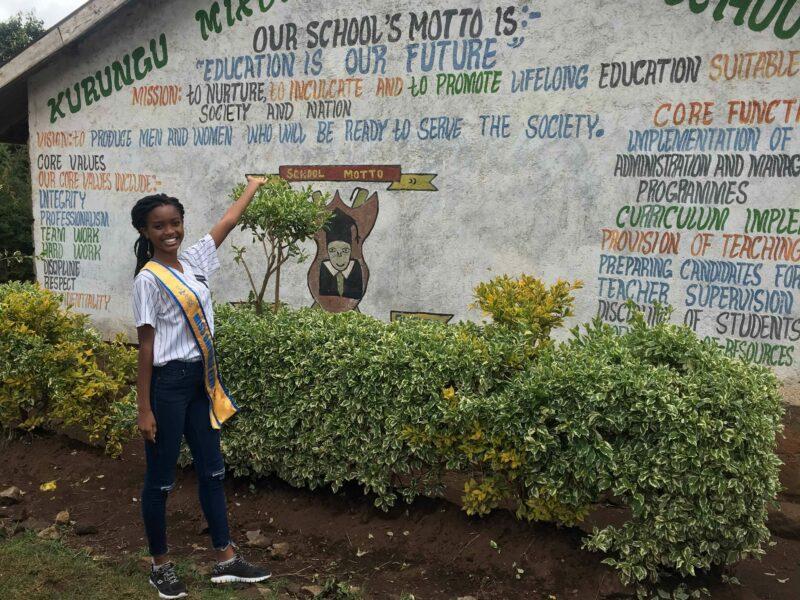 Wabajya Kariuki besucht Nyandarua