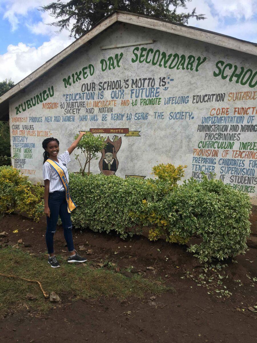 Wabajya Kariuki visiting Nyandarua