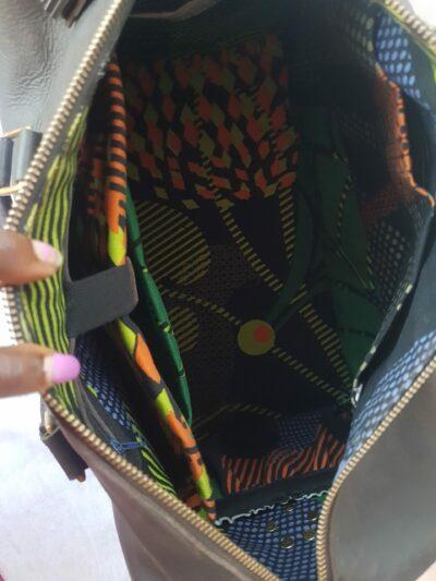 Custom made chic handbag within custom made realization