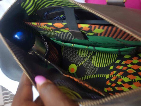 Custom made chic handbag