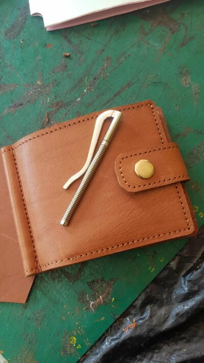 Special wallet within custom made realization