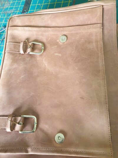custom made leather laptop sleeve within custom made realization