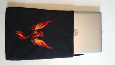 custom made laptop sleeve plus mouse house photos from customer