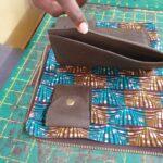 Custom made wallet within custom made realization