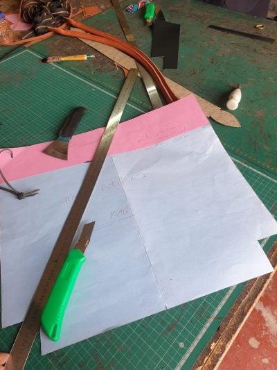 custom made dark brown leather tote bag within custom made realization