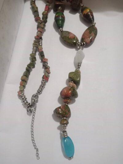 Custom made fruit jasper chain within custom made realization