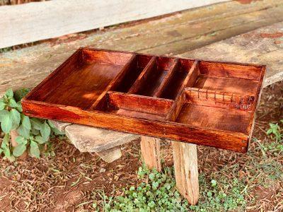Custom made cutlery tray: L: 80 cm, W: 47 cm, H: 6.5