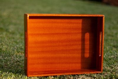 3 made-to-measure inserts for kitchen shelf