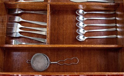 custom made cutlery tray