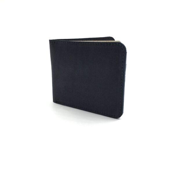 Maßgefertigtes Portemonnaie aus Leder, mit einem Münzfach