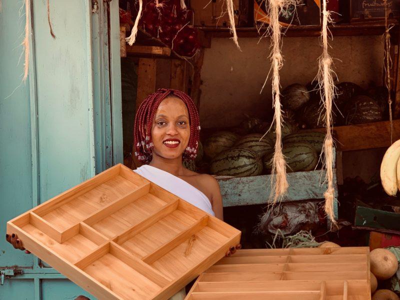 Maßanfertigung: 2 Besteckkästen aus Holz